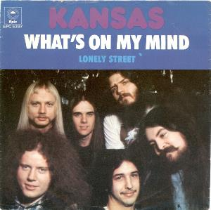 Kansas - What's On My Mind CD (album) cover