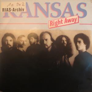 Kansas - Right Away CD (album) cover