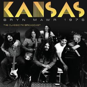 Kansas - Bryn Mawr 1976 CD (album) cover