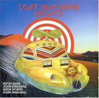 Soft Machine - Legacy CD (album) cover